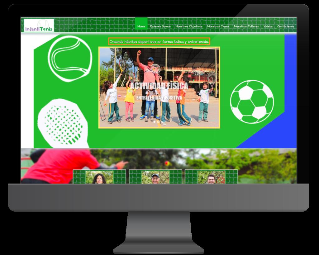 diseño web infantitenis